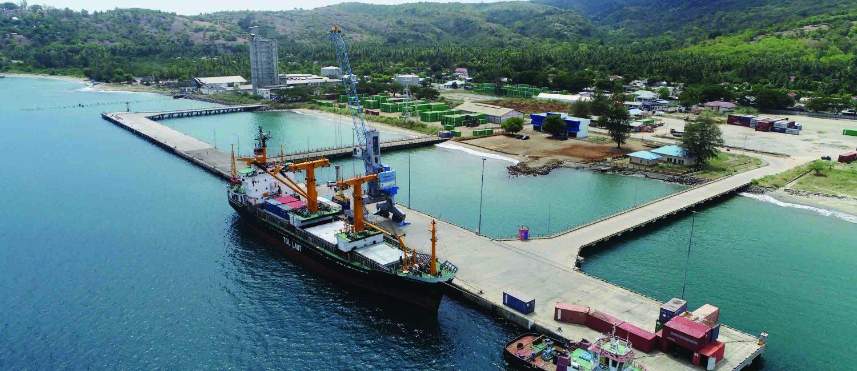 Pelabuhan Laut Malahayati Aceh Besar