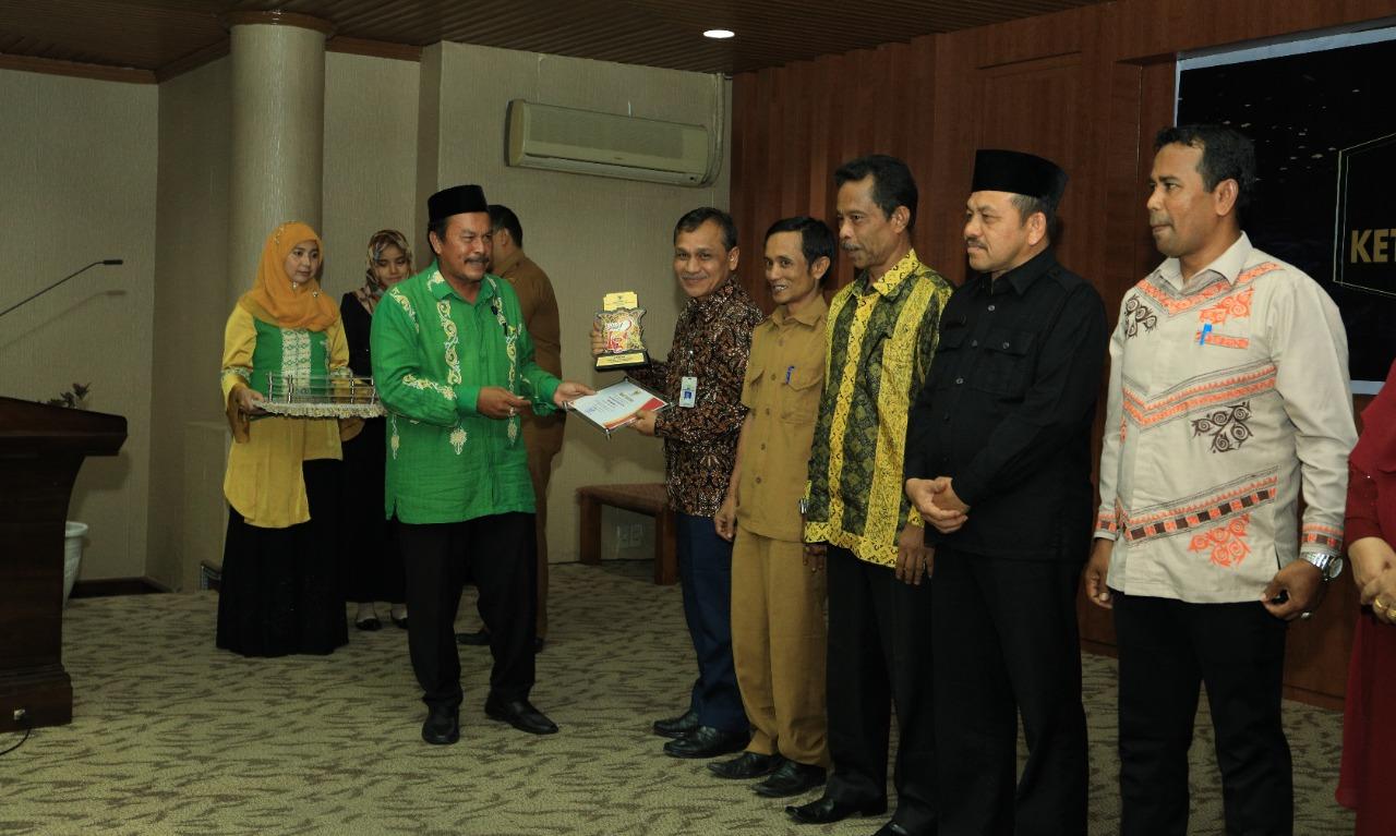 Dishub Aceh raih Peringkat 1, kualifikasi Cukup Informatif pada Anugerah Keterbukaan Informasi Publik Aceh, 3 Des 2019