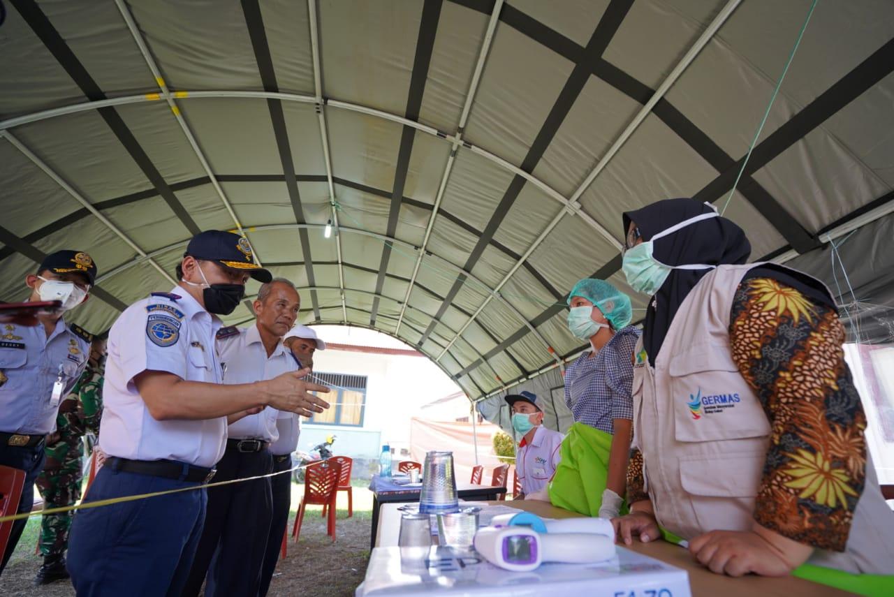 Posko Perbatasan Aceh - Sumut