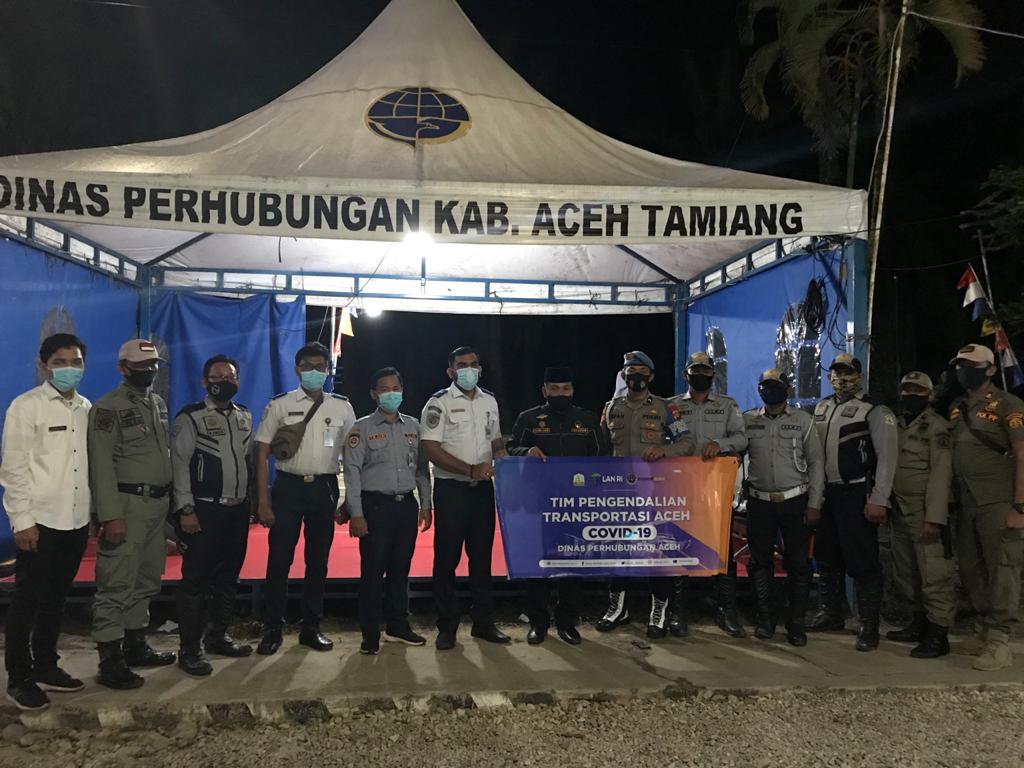 Posko Perbatasan Aceh Tamiang-Sumut (2)