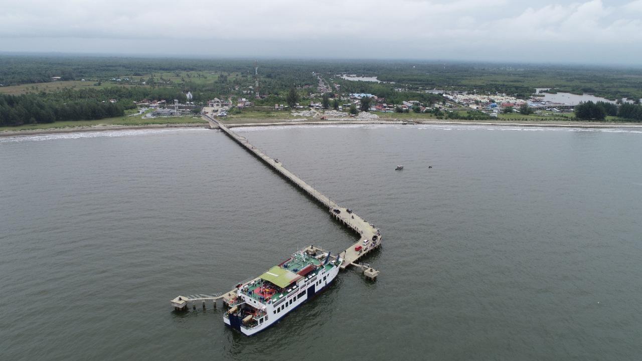 Pelabuhan Penyeberangan Kuala Bubon